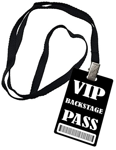 (VIP Back Stage Pass Novelty ID Badge Prop Costume)