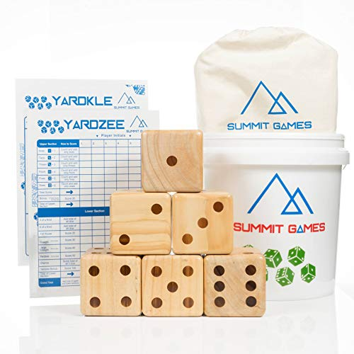 Thing need consider when find wooden dice set of 6?
