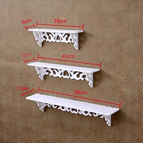 Kisame Shelf Wooden - Storage Rack Shelf Holder Wall Hanging Creative Decoration Organizer for Home Bedroom