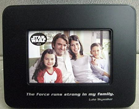 Hallmark Star Wars Shp2018 The Force Runs Strong Photo Frame 4 X 6