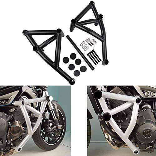 Motorcycle Engine Cage - XX eCommerce Motorcycle Motorbike Black Stunt Cage Frame Engine Guard Crash Bar Protective for 2014-2016 Yamaha MT FZ 09 Tracer MT-09 FZ-09 MT09 FZ09