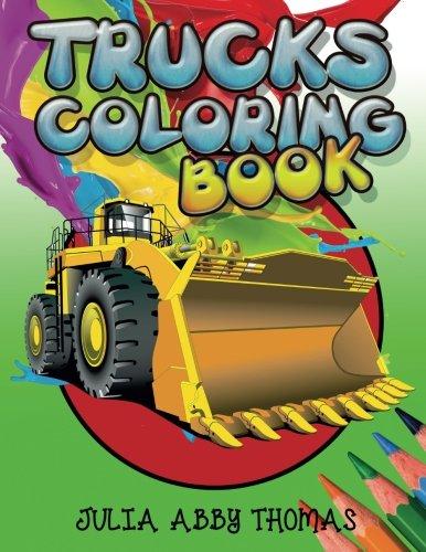 Trucks Coloring Book Julia Thomas product image