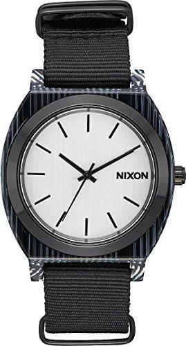 Nixon Time Teller Acetate All Black Silver