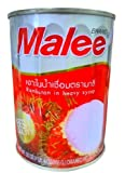Malee, Rambutan Canned in Heavy Syrup - 20 Ounce (565 G) (Packs of 3)