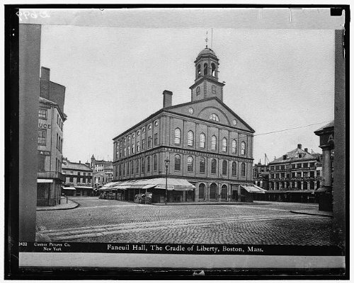 Photo: Faneuil Hall,Cradle of - In Stores Hall Faneuil
