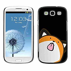 2015 popular Shell-Star ( Cute Minimalist Fox ) Snap On Hard Protective Case For Samsung Galaxy S3 III / i9300 i717