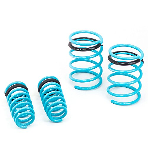 Godspeed(LS-TS-AA-0002 Traction-S Performance Lowering Springs, Set of 4, Acura RSX 2002-2004(DC5) (Best Lowering Springs For Rsx)