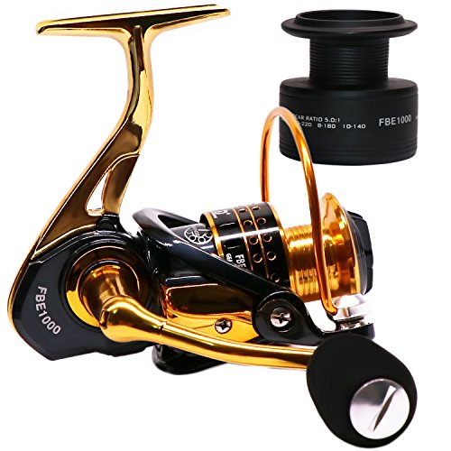 SUPERTHEO Fishing Reels Spinning Left Right Hand Bass Freshwater Saltwater Fishing Reel Spare Graphite Spool