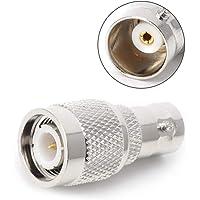 kdjsic BNC Vrouwelijke Jack Naar TNC Mannelijke Plug RF Connector Coaxiale Converter Adapter Recht