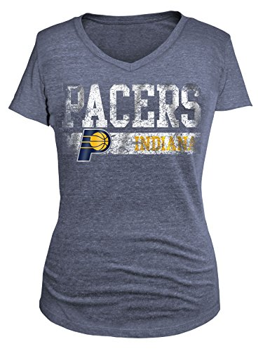 5th & Ocean NBA Women's Tri Blend Short Sleeve V Neck – DiZiSports Store