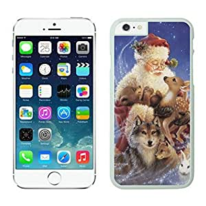 Iphone 6 Case, Santa Claus's Iphone 6 Case - White Frame Series 83803 the Best Durable Protective and Fashionable Perfect Fit Case for Iphone 6 (4.7-Inch)