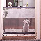 Cheap Magic Gate Portable Folding Safe Guard Install Anywhere for Pets Dog Cat Solated Gauze, Pet Dog Safety Enclosure