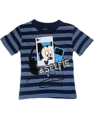 Little Boys' Toddler Mickey Mouse Tee Shirt
