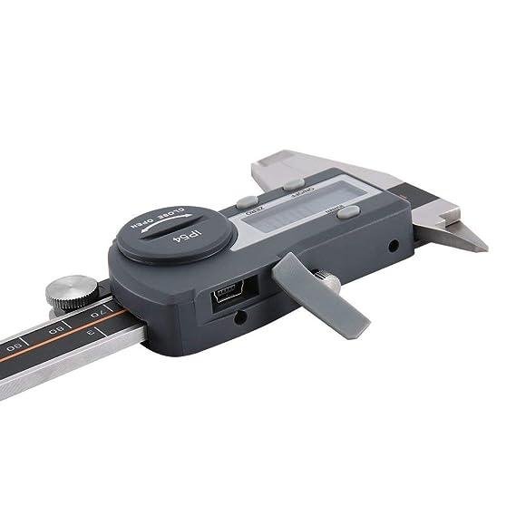 TAOHOU Calibrador Digital Vernier IP54 0.01 mm Acero electrónico ...