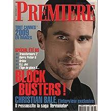 Revue cinéma première n° 388, tout cannes 2009 en images, spécial été us , christian bale
