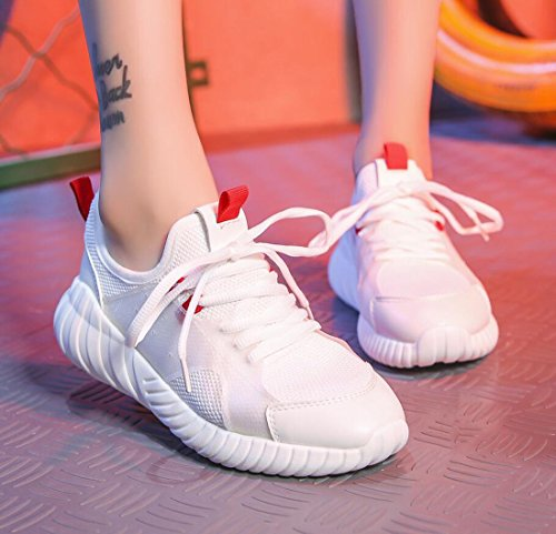 Spring Shoes White Running Sports Student and Shoes Running Mesh Lightweight DANDANJIE Breathable Shoes Summer Casual Women's Pxw7Zq1S