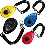 Love4Pets - Dog Training Clicker with Wristband - Outdoor and Indoor Pet Obedience Tools