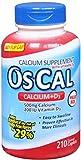 Os-Cal 500+D Caplets 210 Caplets (Pack of 12)