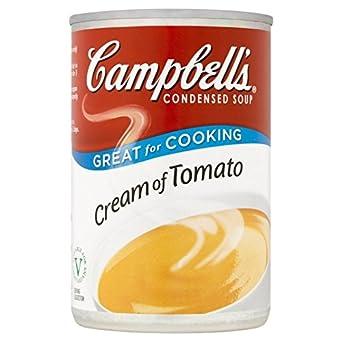 Crema de Campbell De 295g de tomate condensada sopa: Amazon.es: Alimentación y bebidas