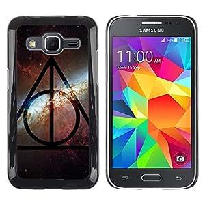 Be Good Phone Accessory // Dura Cáscara cubierta Protectora Caso Carcasa Funda de Protección para Samsung Galaxy Core Prime SM-G360 // universe sky pattern alien pattern star