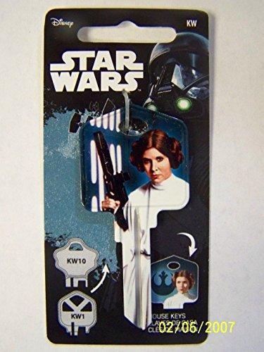Star Wars Princess Leia Kwikset House Key Blank KW1/KW10 ()