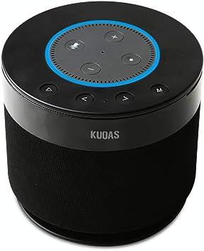 Battery Base for Amazon Echo Dot 10, KUOAS Powerful Docking Station for  Amazon Echo Dot 10nd Generation Alexa Speaker, Portable Wireless Bluetooth
