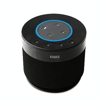 Alexa Bluetooth Speaker >> Amazon Com Battery Base For Amazon Echo Dot 2 Kuoas Powerful