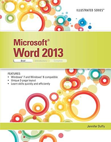 Microsoft Word 2013: Illustrated Brief Pdf