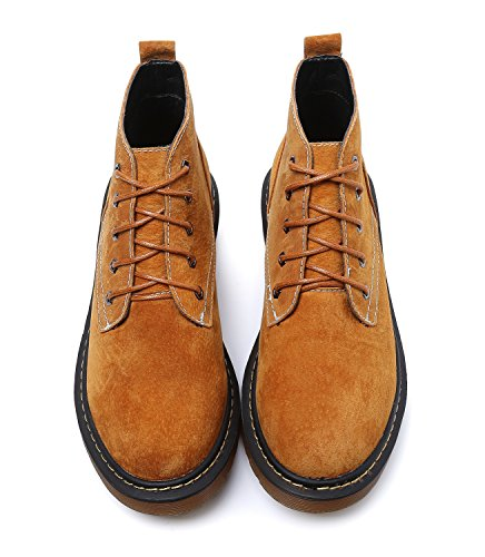 Martin up Soles 1 Yellow Lace HH222 Minotta Oxford lined Women's Fue Boots Hiking AqYw8ATZ
