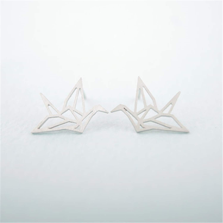Jewelry Wild Crane Earrings for Women Vintage Cute Animal Bird Stud Earrings Pendientes