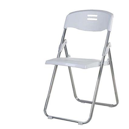 silla plegable portátil Silla plegable de plástico Silla de ...
