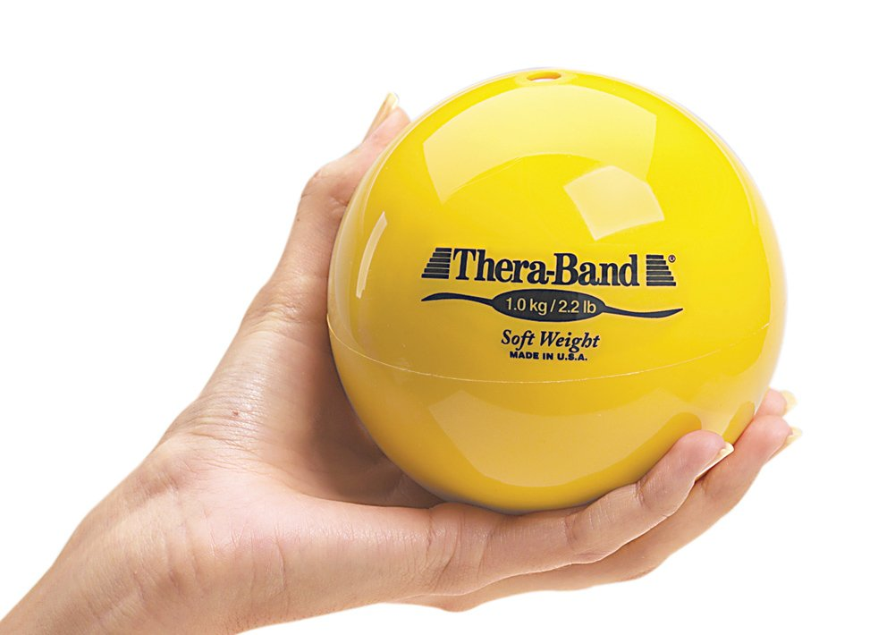 Thera-Band Soft Weights, one of each six colors