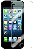 Generic Clear Screen Protector for Apple iPhone 5/5s/5c, 5-Pack - Non-Retail Packaging - Clear