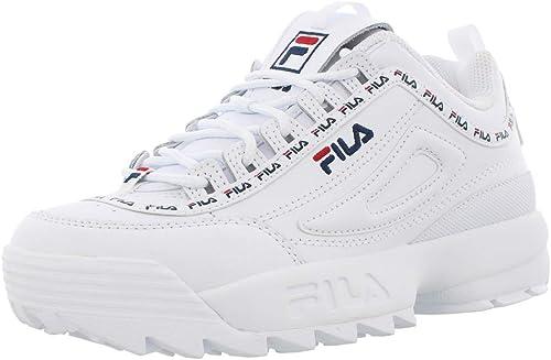 fila white shoes kids