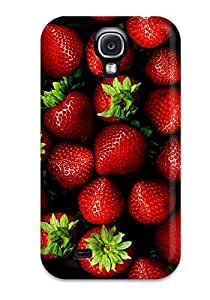 Fashionable Style Case Cover Skin For Galaxy S4- Strawberries