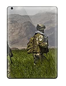 MichaelTH Ipad Air Hybrid Tpu Case Cover Silicon Bumper Us Infantry
