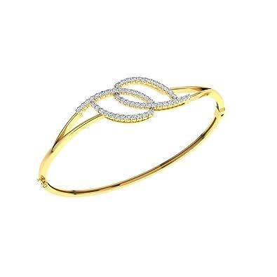 Buy TBZ The Original 18k 750 Yellow Gold and Diamond Charm