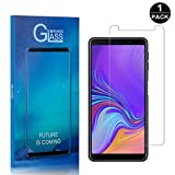 Galaxy A7 2018 Screen Protector, Bear Village® Premium Tempered Glass Screen Protector, Scratch Resistant HD Screen Protector Film for Samsung Galaxy A7 2018-1 PACK