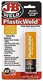 J-B Weld 8237 PlasticWeld Plastic Repair Epoxy