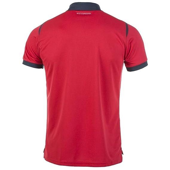 2017-2018 Espanyol Joma Polo Shirt (Red): Amazon.es: Deportes y ...