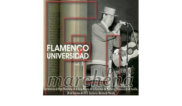 Flamenco y Universidad Vol. 1 de Pepe Marchena en Amazon Music - Amazon.es