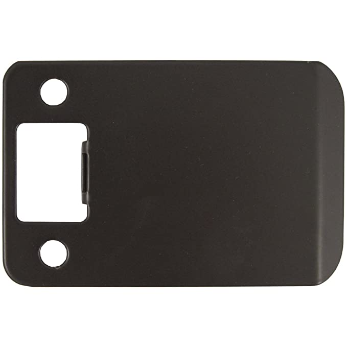 Stone Harbor Hardware 50103-10B Extended Lip Strike Plate with 3