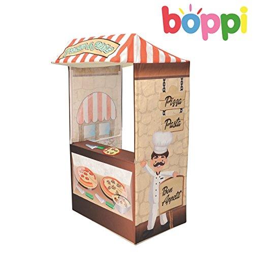 Pizzeria Küchen SpielZelt Kinder Jungen Mädchen Pizza Shop Kitchen Spiel-Zelt Innen Popup Haus