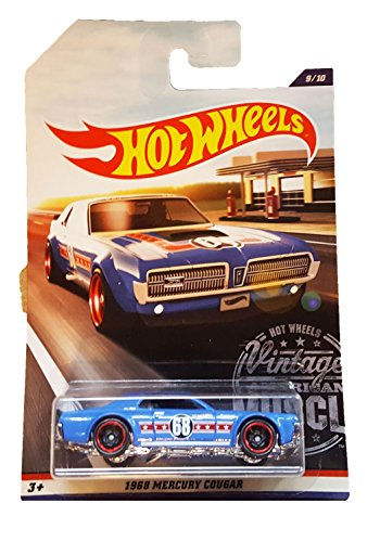 Hot Wheels - 2017 Vintage American Muscle - 1968 Mercury (Cougar Headlamp)