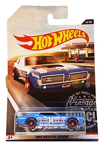 Hot Wheels - 2017 Vintage American Muscle - 1968 Mercury Cougar