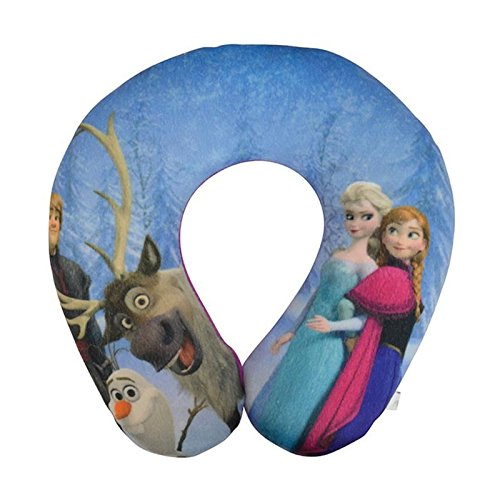 DISNEY La reine des neiges Support de cou en peluche douce: Amazon.es: Coche y moto