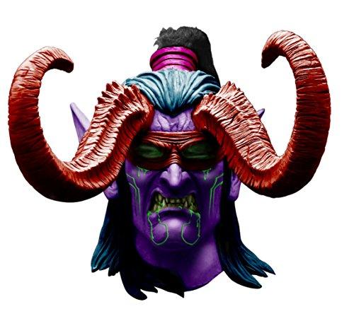Illidan Mask Costume Accessory]()