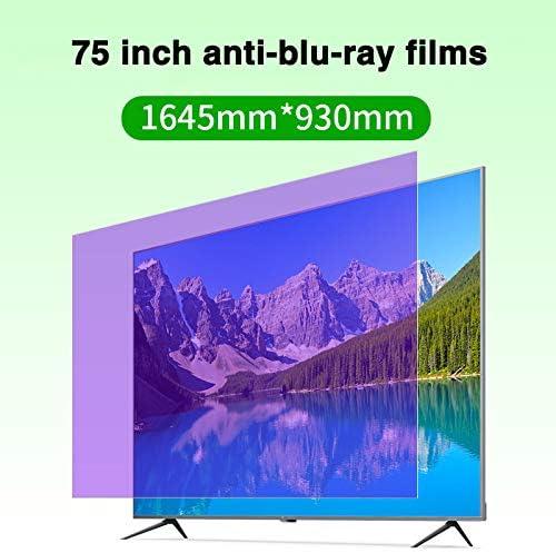 Protector De Pantalla De TV Anti-BLU-Ray De 75 Pulgadas/Alivio De ...