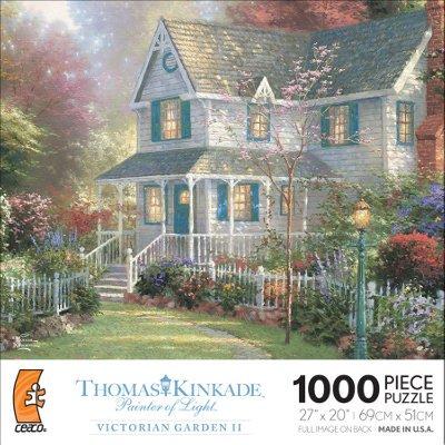 Thomas Kinkade Victorian Garden - Thomas Kinkade's Painter of Light Series - Victorian Garden II 1000 Piece Puzzle