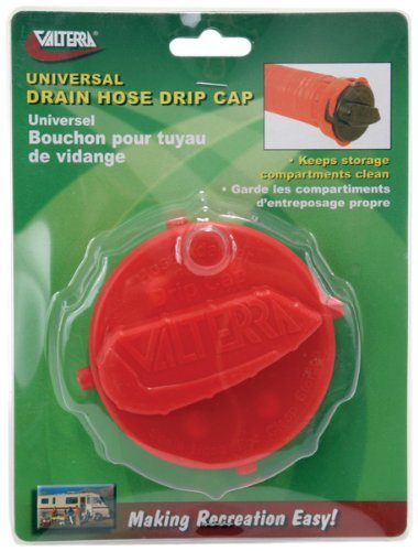 Valterra Products, Inc. T1020-2VP Carded Bayonet Fit Drain Hose Drip Cap (Quantity 4) by Valterra